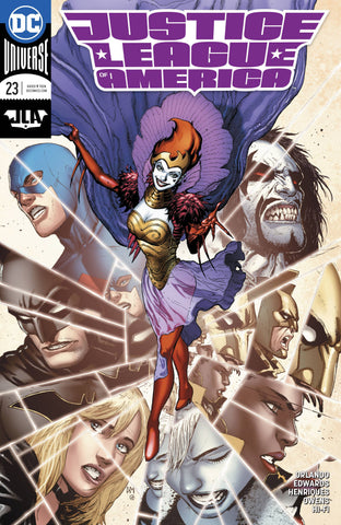 JUSTICE LEAGUE OF AMERICA #23 VAR ED 1/24/2018