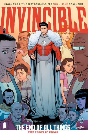 INVINCIBLE #144 CVR A OTTLEY & FAIRBAIRN (MR) 1/31/2018