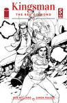 KINGSMAN RED DIAMOND #5 (OF 6) CVR B B&W YU (MR) 1/10/2018