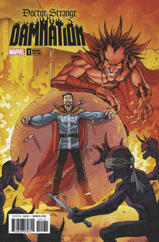 DOCTOR STRANGE DAMNATION #1 (OF 4) LIM VAR LEG 2/21/2018
