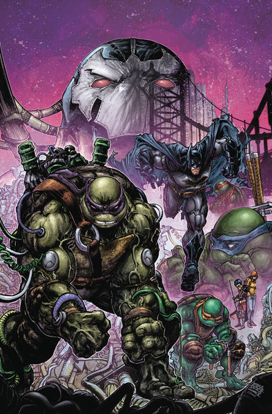 BATMAN TEENAGE MUTANT NINJA TURTLES II #4 (OF 6) 2/21/2018
