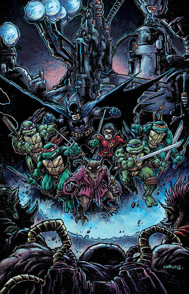 BATMAN TEENAGE MUTANT NINJA TURTLES II #4 (OF 6) VAR ED 2/21/2018