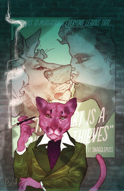 EXIT STAGE LEFT THE SNAGGLEPUSS CHRONICLES #2 (OF 6) 2/7/2018