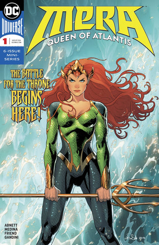 MERA QUEEN OF ATLANTIS #1 (OF 6) 2/28/2018