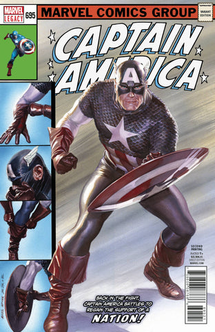 CAPTAIN AMERICA #695 2ND PTG ALEX ROSS VAR LEG