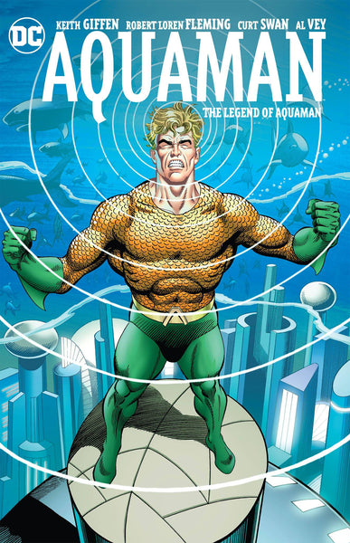 AQUAMAN THE LEGEND OF AQUAMAN TP 3/21/2018