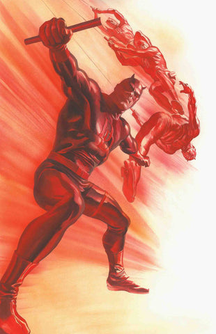 DAREDEVIL #600 ALEX ROSS VAR LEG 1:50 3/28/2018