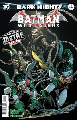 BATMAN WHO LAUGHS #1 3RD PTG METAL 2/7/2018