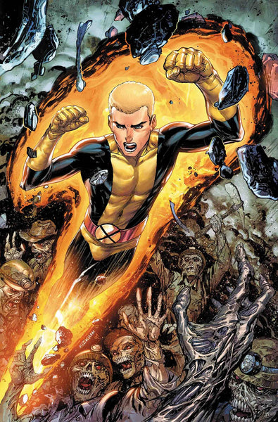 CABLE #155 KIRKHAM NEW MUTANTS VAR LEG 3/21/2018
