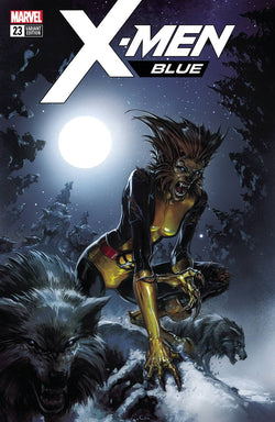X-MEN BLUE #23 CRAIN NEW MUTANTS VAR LEG 3/14/2018