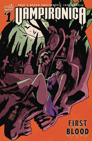 Image result for VAMPIRONICA #1 COMIC 2018