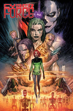 CYBER FORCE #1 CVR A SILVESTRI (MR) 3/28/2018