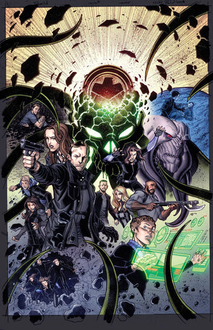 INFINITY COUNTDOWN #1 (OF 5) AGENTS OF SHIELD ROAD TO 100 VA 1:10 3/7/2018