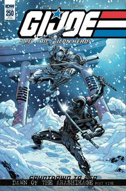 GI JOE A REAL AMERICAN HERO #250 10 COPY INCV 3/28/2018