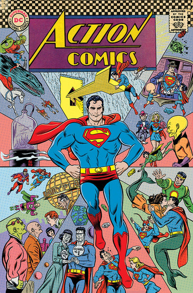 ACTION COMICS #1000 1960S VAR ED (NOTE PRICE) 4/18/2018