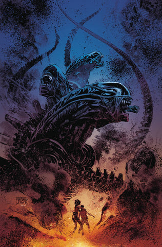 ALIENS DUST TO DUST #1 (OF 4) MAIN CVR (MR) 4/25/2018
