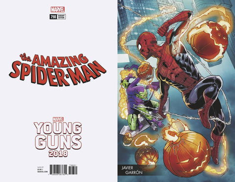 AMAZING SPIDER-MAN #798 GARRON YOUNG GUNS VAR LEG 4/4/2018