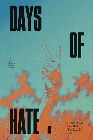DAYS OF HATE #4 (OF 12) (MR) 4/25/2018