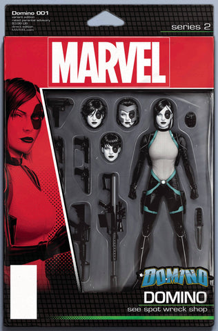 DOMINO #1 CHRISTOPHER ACTION FIGURE VAR 4/11/2018