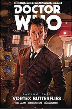 DOCTOR WHO 10TH FACING FATE TP VOL 02 VORTEX BUTTERFLIES 8/8/2018