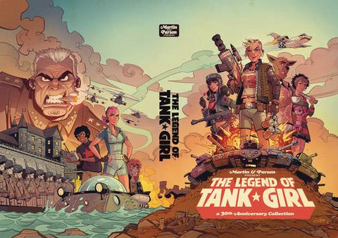 LEGEND TANK GIRL HC 8/15/2018