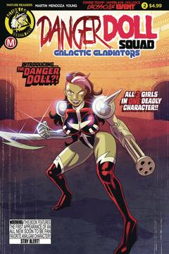 DANGER DOLL SQUAD GALACTIC GLADIATORS #2 CVR A YOUNG (MR) 5/30/2018