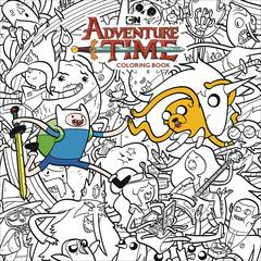 ADVENTURE TIME ADULT COLORING BOOK TP (C: 1-1-2) 7/25/2018