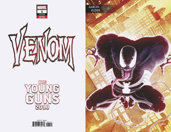 VENOM #1 KUDER YOUNG GUNS VAR 5/9/2018