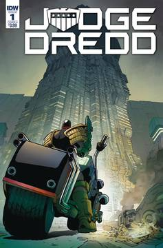 JUDGE DREDD UNDER SIEGE #1 (OF 4) CVR A DUNBAR 5/23/2018