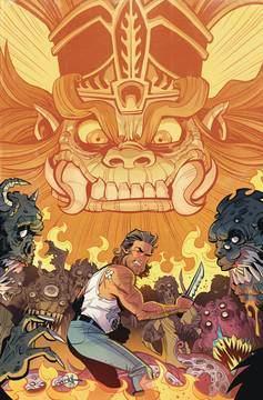 BIG TROUBLE IN LITTLE CHINA OLD MAN JACK #10 6/27/2018