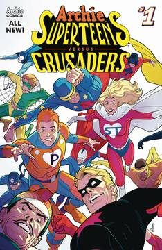 ARCHIES SUPERTEENS VS CRUSADERS #1 CVR A  CONNECTING CVR 1 6/20/2018