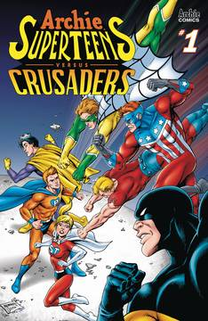 ARCHIES SUPERTEENS VS CRUSADERS #1 CVR B GRUMMETT 6/20/2018
