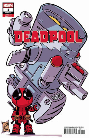 DEADPOOL #1 YOUNG VAR 6/6/2018