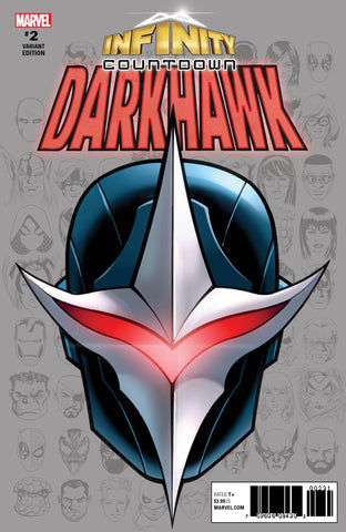 INFINITY COUNTDOWN DARKHAWK #2 (OF 4) MCKONE HEADSHOT VAR 6/13/2018