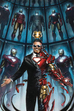 TONY STARK IRON MAN #1 GRANOV VAR 1:25 6/20/2018