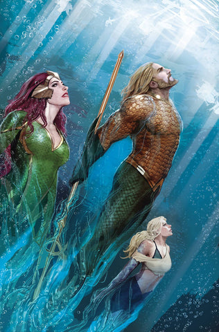AQUAMAN TP VOL 05 THE CROWN COMES DOWN REBIRTH 7/4/2018