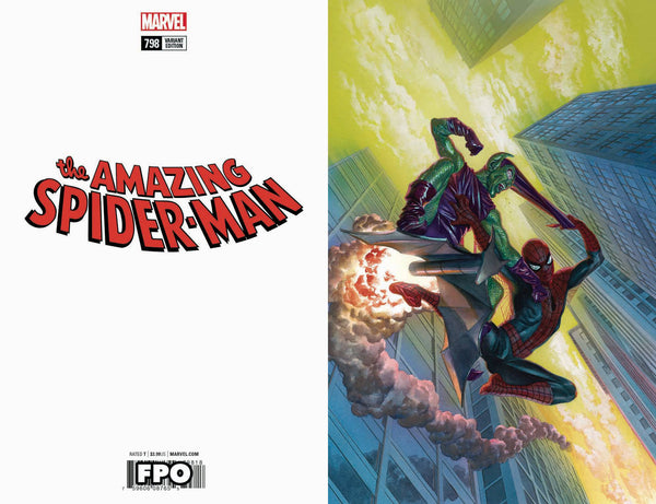 AMAZING SPIDER-MAN #798 ALEX ROSS VIRGIN VAR LEG 1:100 4/4/2018