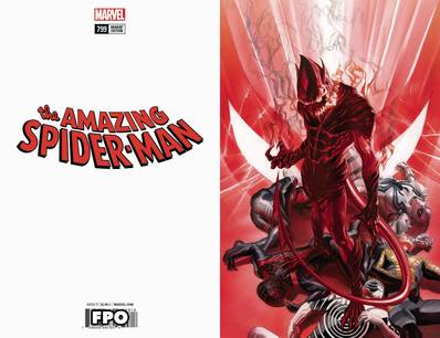 AMAZING SPIDER-MAN #799 ALEX ROSS VIRGIN VAR LEG 1:100 4/18/2018