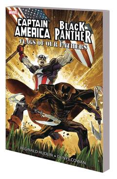CAPTAIN AMERICA BLACK PANTHER FLAGS OUR FATHERS NEW PTG 6/27/2018