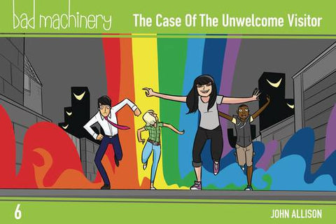 BAD MACHINERY POCKET ED GN VOL 06 CASE UNWELCOME VISITOR 10/31/2018
