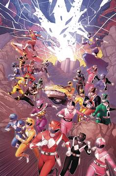 MIGHTY MORPHIN POWER RANGERS #29 MAIN SG (C: 1-0-0) 7/18/2018