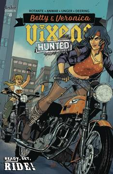BETTY AND VERONICA VIXENS #8 CVR A ANWAR 7/25/2018