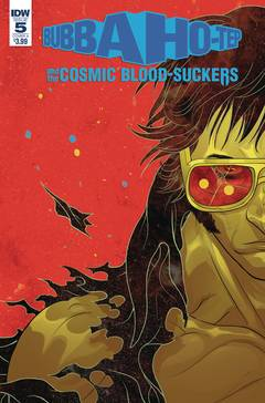 BUBBA HO-TEP & COSMIC BLOOD-SUCKERS #5 CVR A RIVAS 7/4/2018