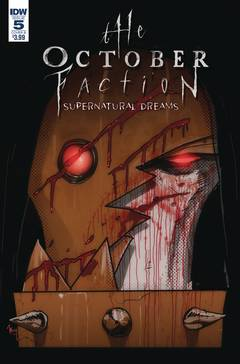 OCTOBER FACTION SUPERNATURAL DREAMS #5 CVR B WORM 7/4/2018
