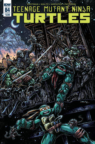 TMNT ONGOING #84 CVR B EASTMAN (C: 1-0-0) 7/25/2018