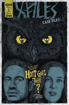 X-FILES CASE FILES HOOT GOES THERE #1 (OF 2) CVR B LENDL 7/25/2018