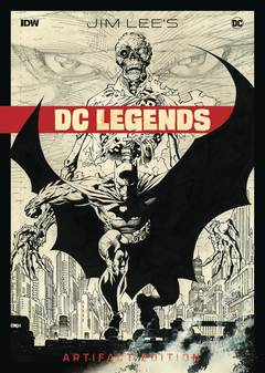 JIM LEE DC LEGENDS ARTIFACT ED HC (Net) (C: 0-1-2) 9/26/2018