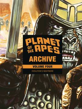 PLANET OF APES ARCHIVE HC VOL 04 (C: 0-1-2) 9/5/2018