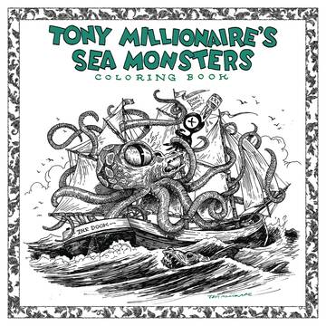 TONY MILLIONAIRE SEA MONSTER COLORING BOOK SC (C: 0-1-2) 9/12/2018