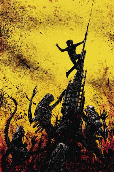 ALIENS DUST TO DUST #4 (OF 4) CVR A BEREDO (MR) 10/3/2018